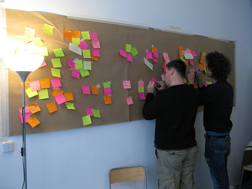 The Wall of Ideas